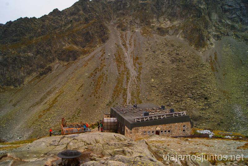 Zboinícka Chata, refugio Trekking en los Altos Tatras, Eslovaquia High Tatras, Slovaquia #EslovaquiaJuntos Parte III Diario