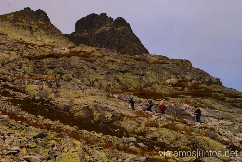 Nuestros amigos, ¡los checos! Trekking en los Altos Tatras, Eslovaquia High Tatras, Slovaquia #EslovaquiaJuntos Parte III Diario