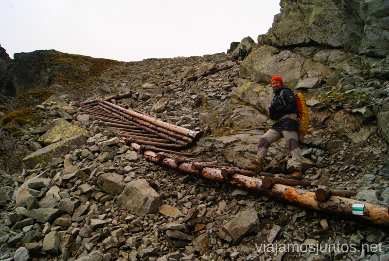 Cómodo ascenso a Pol'sky Hreben Trekking en los Altos Tatras, Eslovaquia High Tatras, Slovaquia #EslovaquiaJuntos Parte III Diario