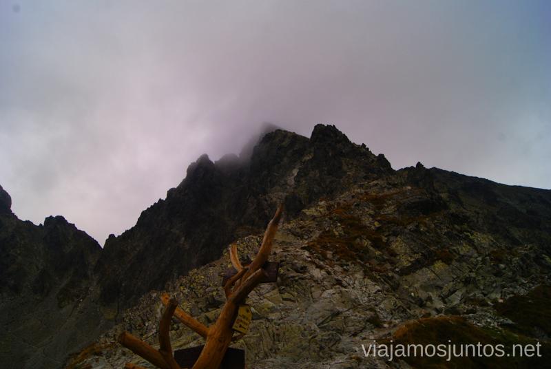 Oh-oh Parece que va a caer una tormenta guapa... Trekking en los Altos Tatras, Eslovaquia High Tatras, Slovaquia #EslovaquiaJuntos Parte III Diario