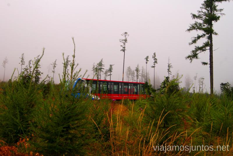 Hay transporte hasta... en la montaña Recorrido por Eslovaquia. Información práctica. Consejos