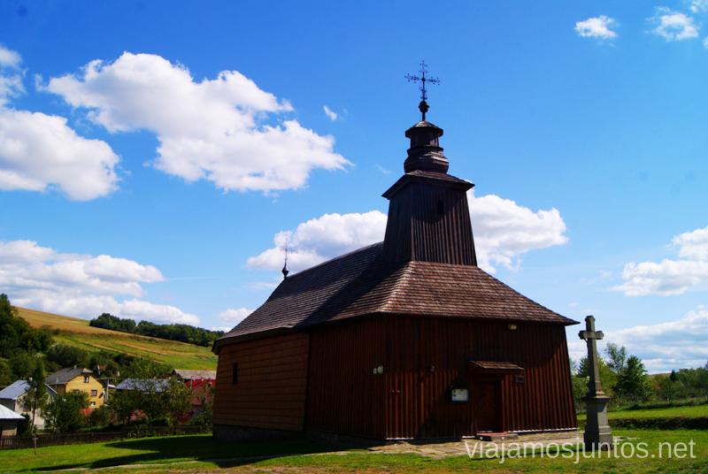 Iglesia de madera Recorrido por Eslovaquia. Información práctica. Consejos