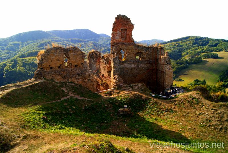 Las ruinas del castillo Recorrido por Eslovaquia. Información práctica. Consejos