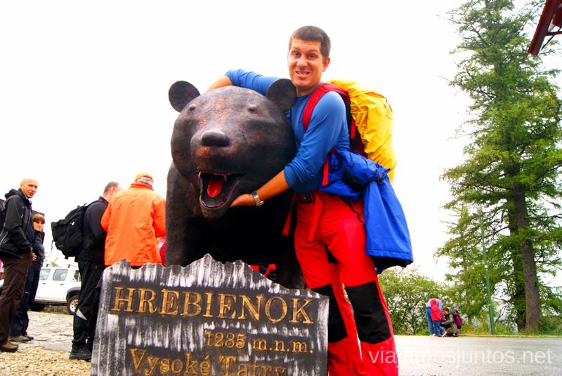 Have you ever seen a bear? Recorrido por Eslovaquia. Información práctica. Consejos