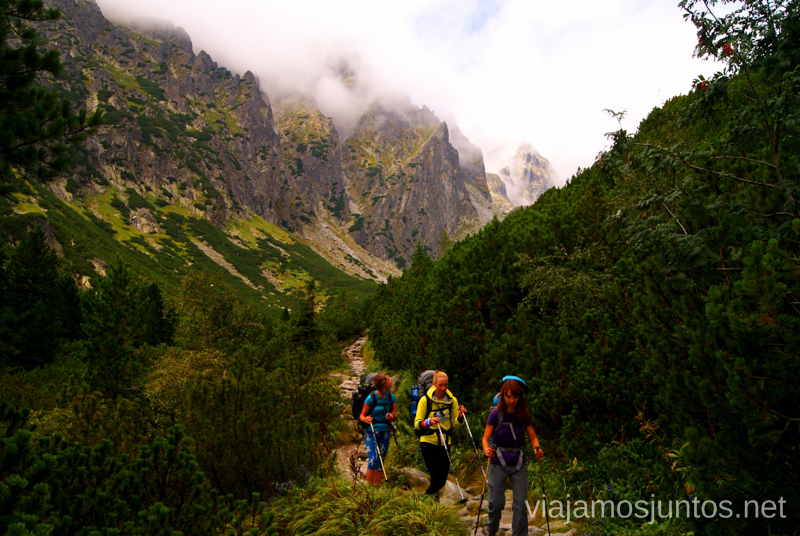 La gente y las montañas Recorrido por Eslovaquia. Información práctica. Consejos