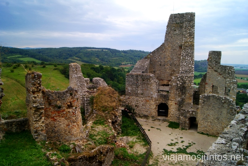 Las ruinas Castillos de Eslovaquia, Slovakia, #EslovaquiaJuntos Que ver y que hacer