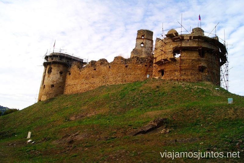 Llegando al Zborovsky Hrad Castillos de Eslovaquia, Slovakia, #EslovaquiaJuntos Que ver y que hacer