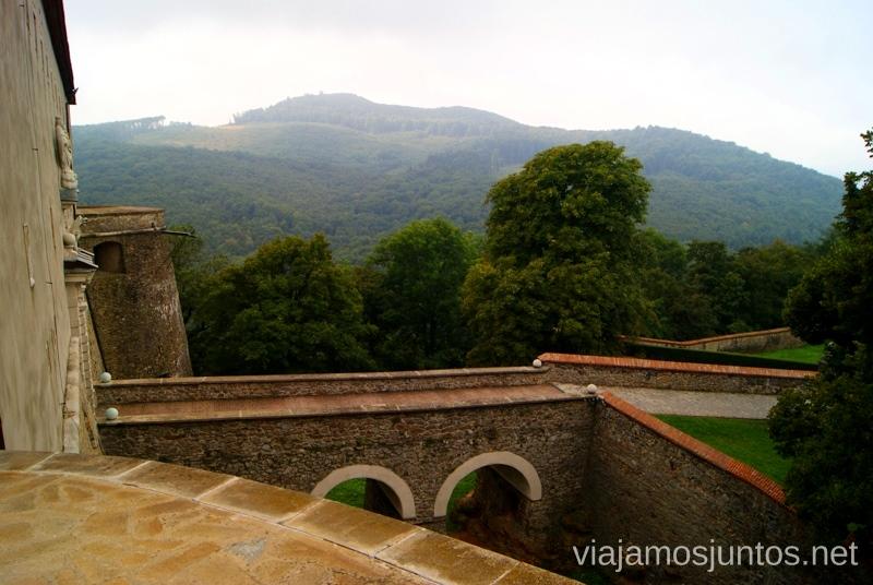 Desde el castillo Cerveny Kamen Castillos de Eslovaquia, Slovakia, #EslovaquiaJuntos Que ver y que hacer