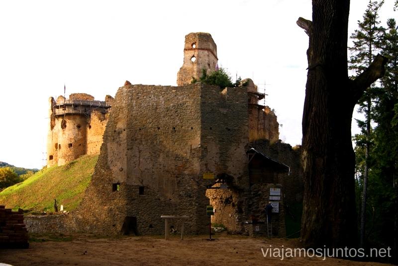Castillo: Zborovsky Hrad Castillos de Eslovaquia, Slovakia, #EslovaquiaJuntos Que ver y que hacer