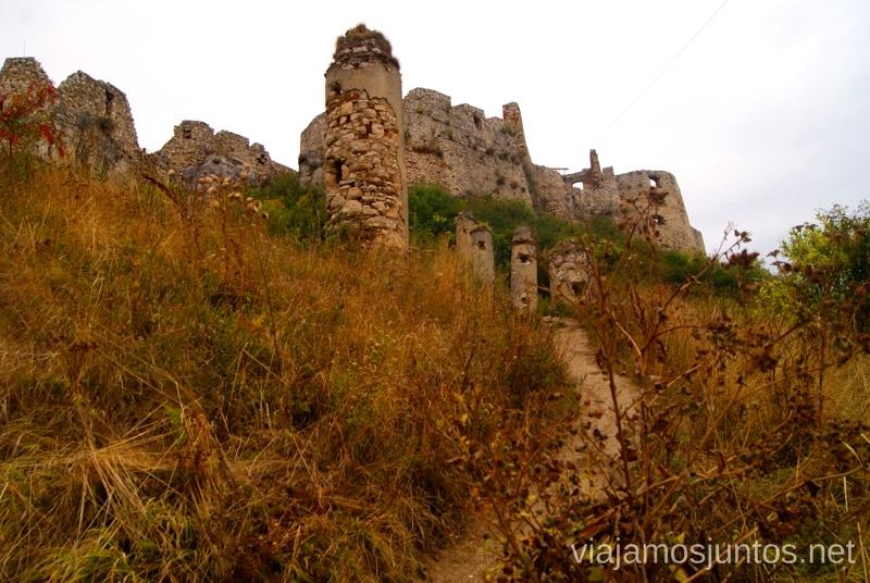 La senda del Castillo de Spis Castillos de Eslovaquia, Slovakia, #EslovaquiaJuntos Que ver y que hacer