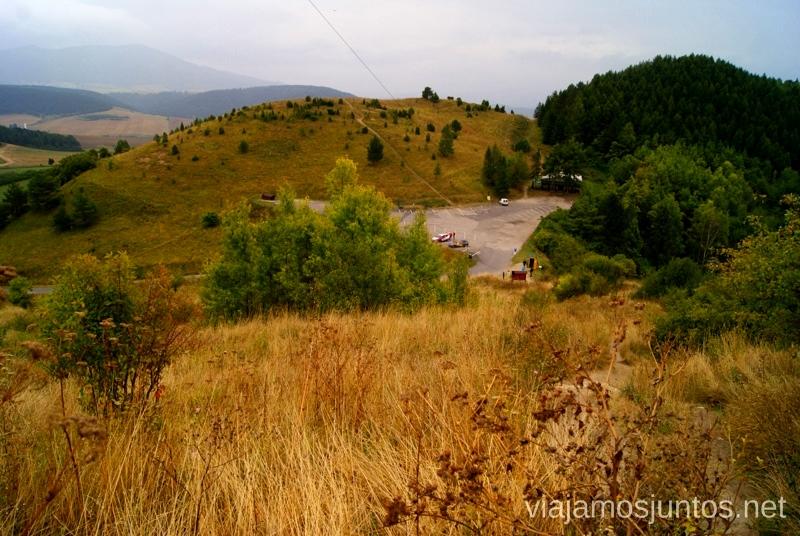 Parking del Castillo de Spis Castillos de Eslovaquia, Slovakia, #EslovaquiaJuntos Que ver y que hacer