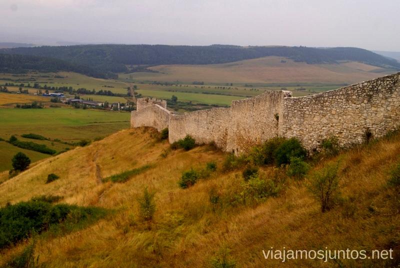 Muralla del castillo de Spis Castillos de Eslovaquia, Slovakia, #EslovaquiaJuntos Que ver y que hacer