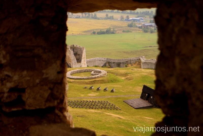 Recinto amurallado del castillo de Spis Castillos de Eslovaquia, Slovakia, #EslovaquiaJuntos Que ver y que hacer