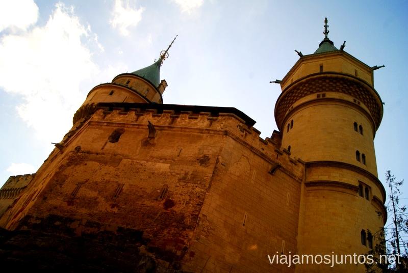 Castillo de Bojnice Castillos de Eslovaquia, Slovakia, #EslovaquiaJuntos Que ver y que hacer
