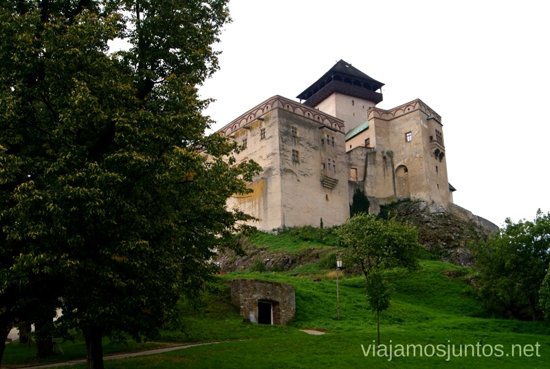 Castillo de Trencin Castillos de Eslovaquia, Slovakia, #EslovaquiaJuntos Que ver y que hacer