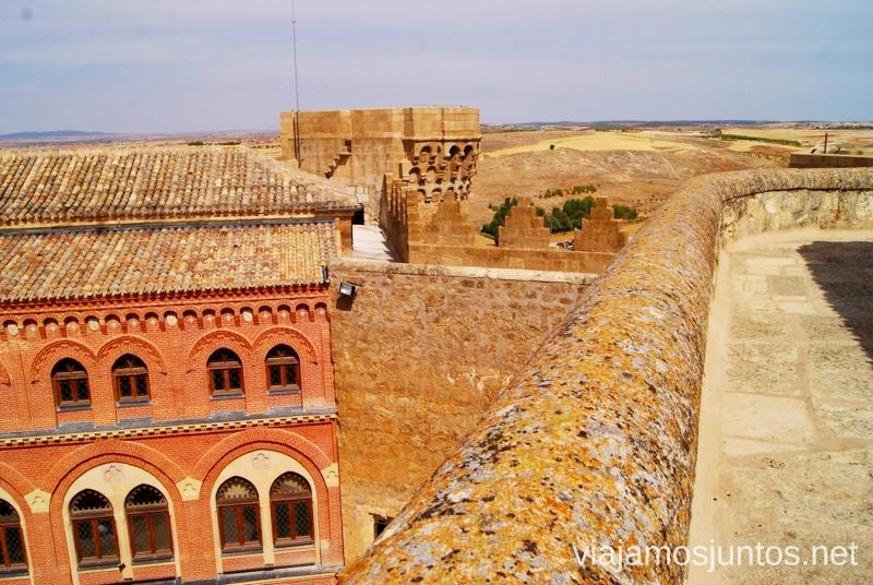 La unión del castillo y palacio I Torneo Internacional de Combate Medieval en el Castillo de Belmonte, Cuenca, Castilla-La Mancha #DesafioBelmonte