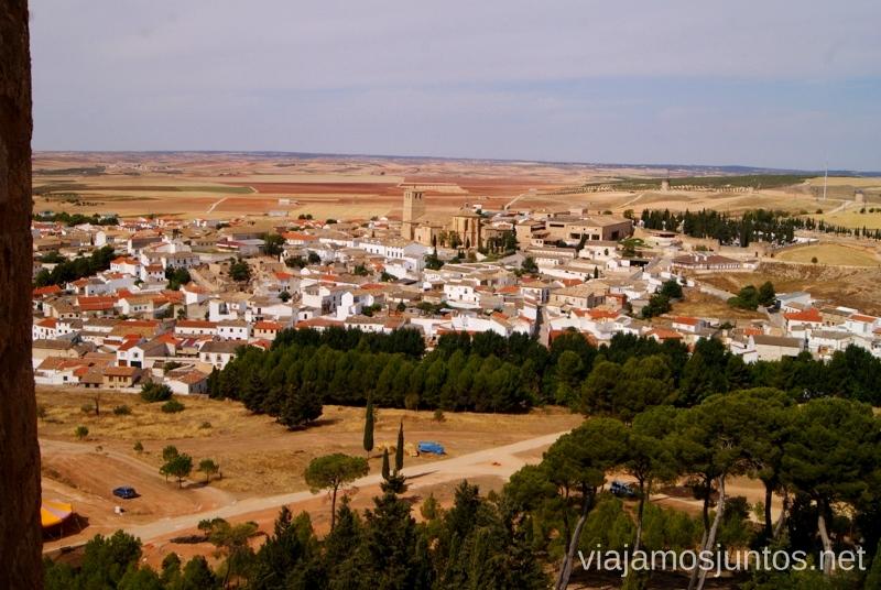 Vistas panorámicas I Torneo Internacional de Combate Medieval en el Castillo de Belmonte, Cuenca, Castilla-La Mancha #DesafioBelmonte