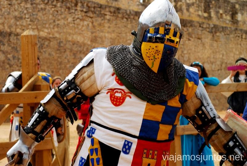Listo para combatir I Torneo Internacional de Combate Medieval en el Castillo de Belmonte, Cuenca, Castilla-La Mancha #DesafioBelmonte