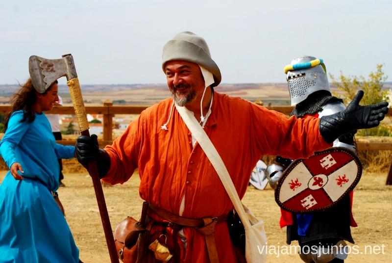 ¿Por qué tan feliz? I Torneo Internacional de Combate Medieval en el Castillo de Belmonte, Cuenca, Castilla-La Mancha #DesafioBelmonte