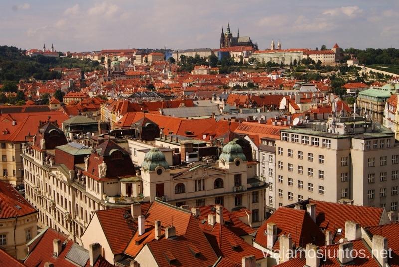 Panorámica de Praga Vistas panorámicas de Praga, República Checa
