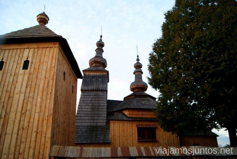 Iglesia Ladomirova Iglesias de madera de Eslovaquia, #EslovaquiaJuntos