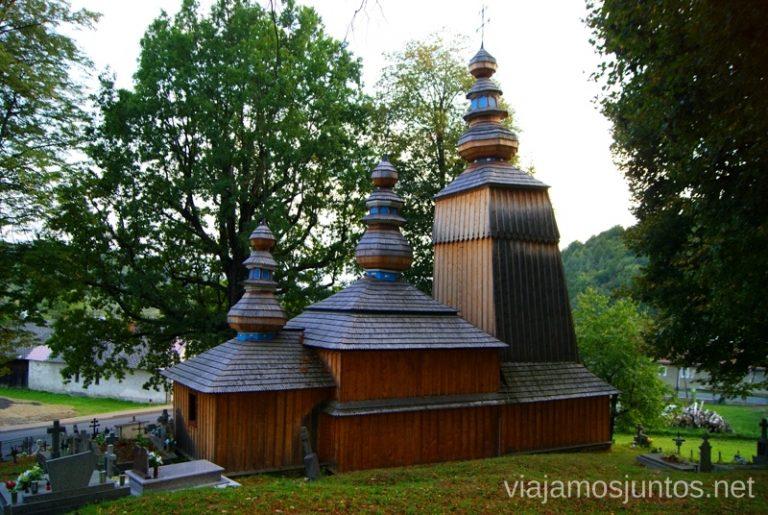 Huncovce Iglesias de madera de Eslovaquia, #EslovaquiaJuntos
