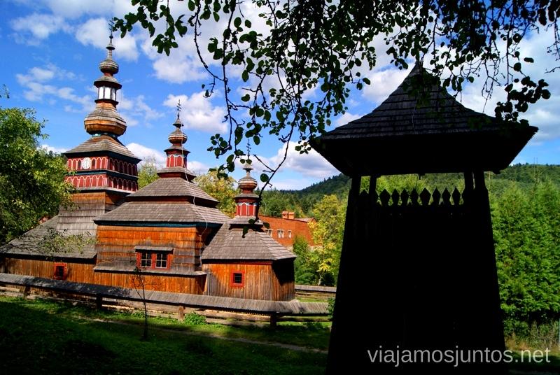 Mikulásová Iglesias de madera de Eslovaquia, #EslovaquiaJuntos