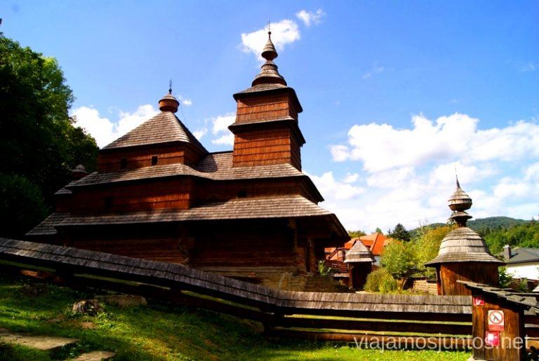 Iglesia de Zboj Iglesias de madera de Eslovaquia, #EslovaquiaJuntos