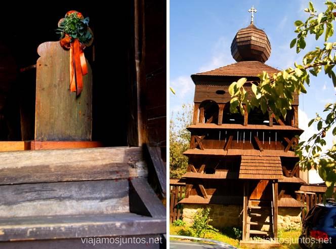 Hronsek Iglesias de madera de Eslovaquia, #EslovaquiaJuntos