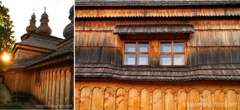 Mirola al atardecer Iglesias de madera de Eslovaquia, #EslovaquiaJuntos