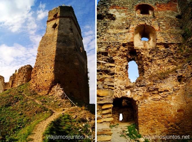 Ruinas paisajísticas del castillo de Zborovsky Hrad Castillos de Eslovaquia, Slovakia, #EslovaquiaJuntos Que ver y que hacer