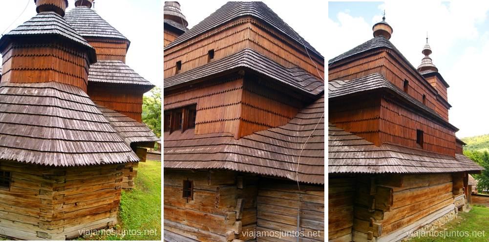 Zboj, Skanzen Iglesias de madera de Eslovaquia, #EslovaquiaJuntos