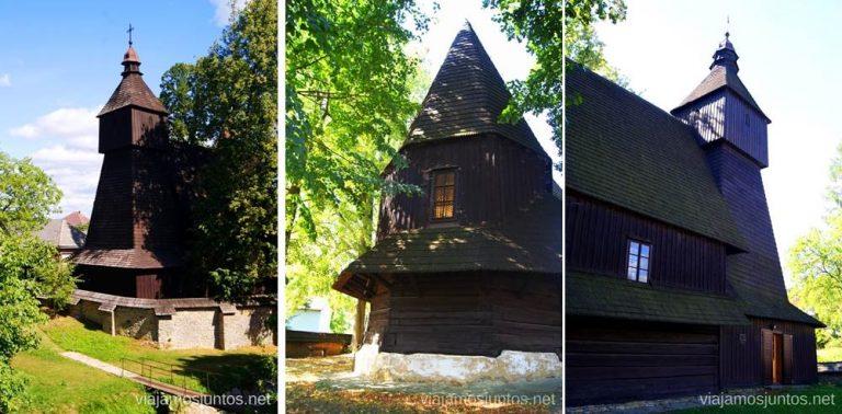 Hervartov Iglesias de madera de Eslovaquia, #EslovaquiaJuntos