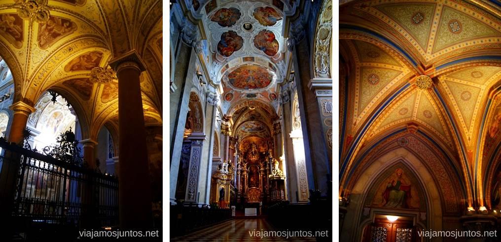 El interior del Monasterio Stift Klosterneuburg Viena en 24 horas, itinerario. Que hacer y que ver en Vienna