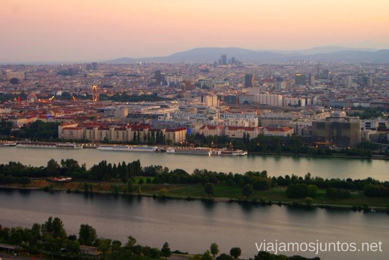 Vistas desde la Torre del Danubio Top visitas de Viena, Austria. Que ver y hacer en Wien
