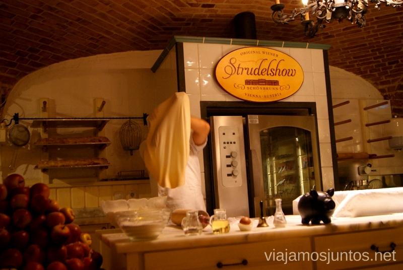 Strudel Show, Palacio Shönbrunn Viena en 24 horas, itinerario. Que hacer y que ver en Vienna