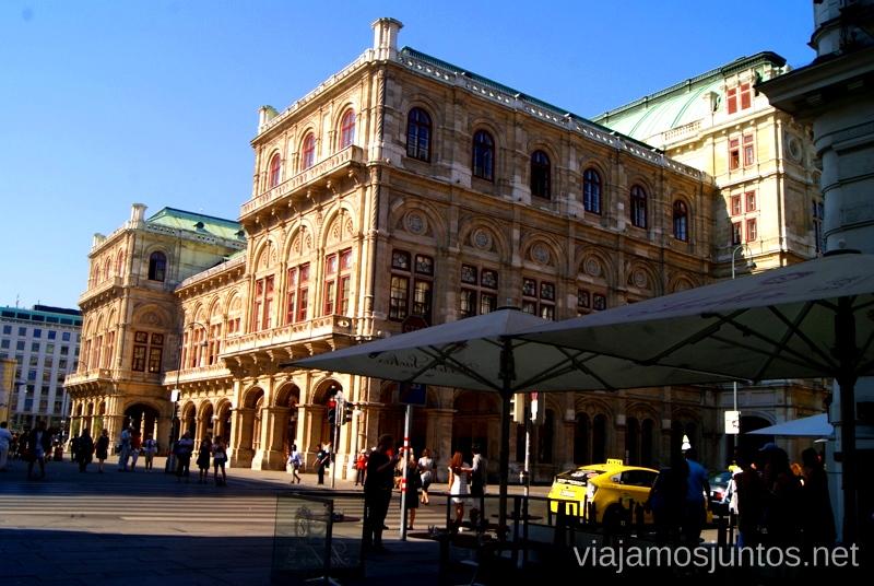 Opera Nacional Viena en 24 horas, itinerario. Que hacer y que ver en Vienna