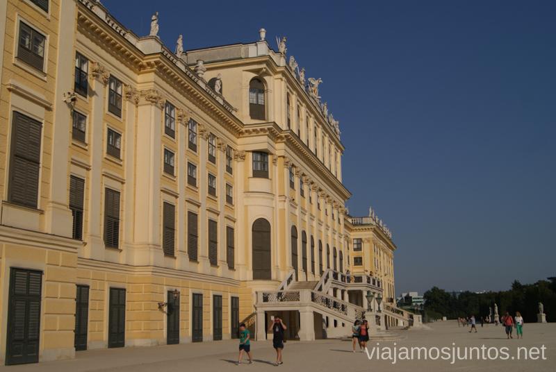 Palacio Shönbrunn Viena en 24 horas, itinerario. Que hacer y que ver en Vienna