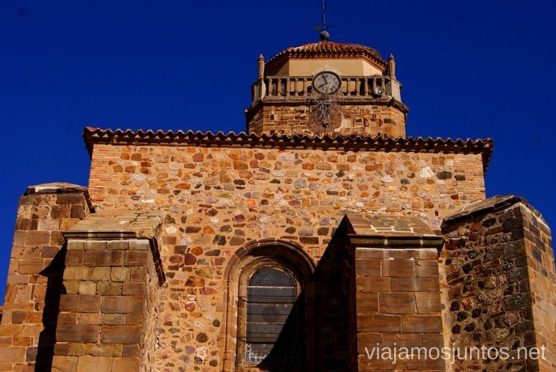 Iglesia de Almodóvar del Campo Un itinerario de un día por Almodóvar del Campo, Ciudad Real, Castilla-la Mancha Que ver y que hacer