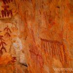 Peña Escrita, abrigo de pinturas rupestres Descubriendo el Edén de la Mancha, el parque natural del Valle de Alcudia y Sierra Madrona