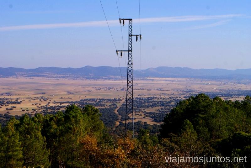 El Valle de Alcudia desde arriba Descubriendo el Edén de la Mancha, el parque natural del Valle de Alcudia y Sierra Madrona