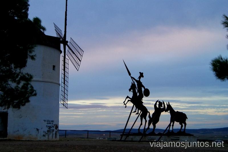 Inspiración El Quijote Un itinerario de un día por Almodóvar del Campo, Ciudad Real, Castilla-la Mancha Que ver y que hacer