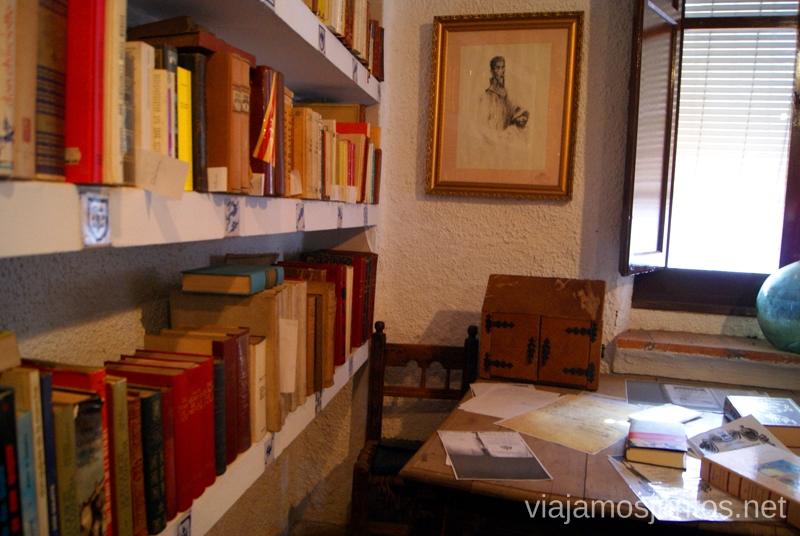 La Biblioteca Cervantina Un itinerario de un día por Almodóvar del Campo, Ciudad Real, Castilla-la Mancha Que ver y que hacer