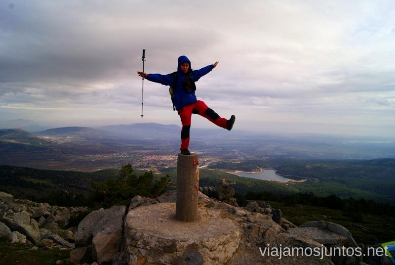 Senderismo por la zona de San Rafael, Madrid Segovia