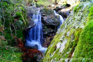 La ruta de las cascadas. Navacerrada. Sierra Guadarrama. Madrid