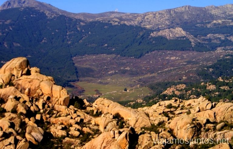 Vistas por el camino Ruta el Yelmo Manzanares el Real Madrid