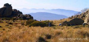 La ruta de El Yelmo la Pedriza Manzanares el Real Madrid