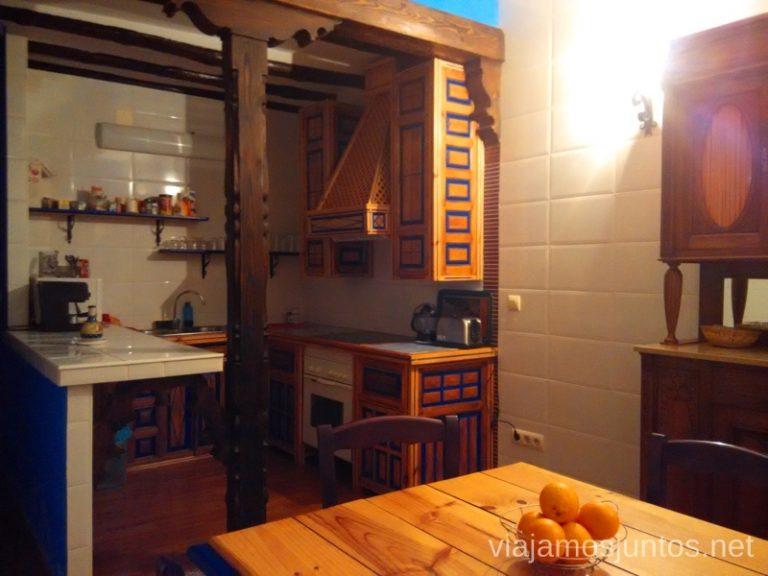 Cocina del hotel 5 ranas Donde comer y alojarse en el Valle de Alcudia, Edén de la Mancha, Castilla la Mancha