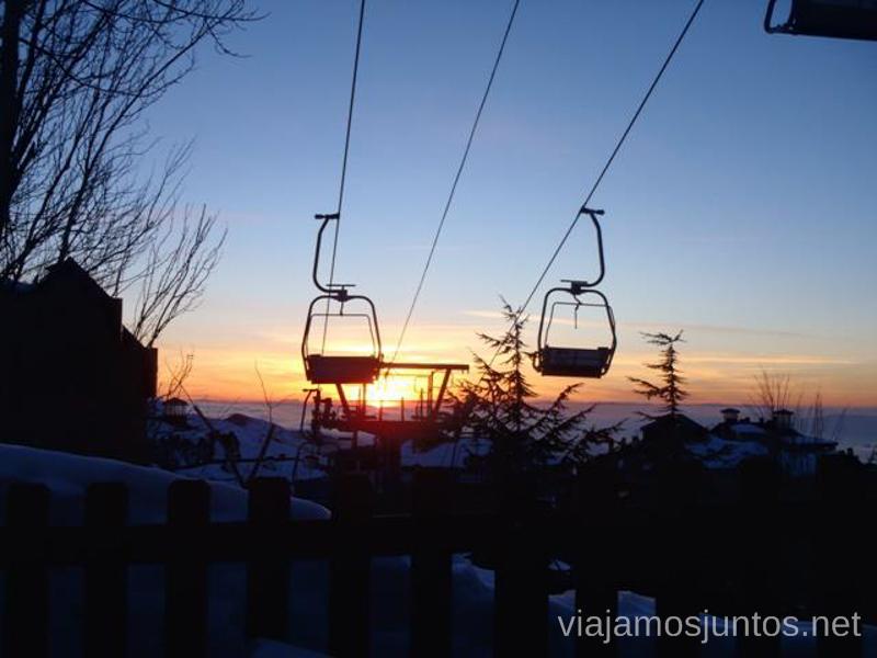 Última subida Donde esquiar este año 2016
