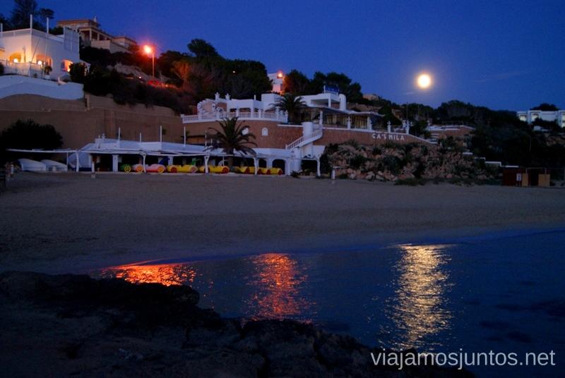 La súper-luna llena en la Cala Tarida Nuestros atardeceres favoritos de Ibiza Donde ver puesta de sol en la isla de Ibiza